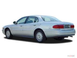 2005 Buick LeSabre 4-door Sedan Custom Angular Rear Exterior View