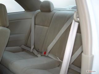 2005 Honda Civic Coupe EX AT SE Rear Seats