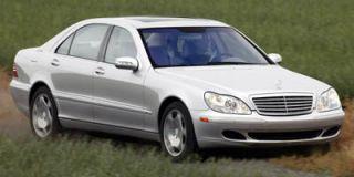 2005 Mercedes Benz S Class 5.5L
