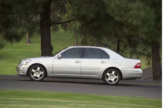 2005 Lexus LS Review Ratings Specs Prices And Photos