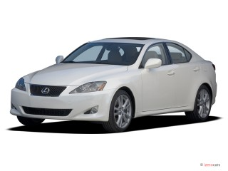 2006 Lexus IS 250 4-door Sport Sedan Auto Angular Front Exterior View