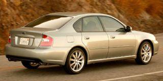 2006 Subaru Legacy Sedan 2.5 GT Spec B
