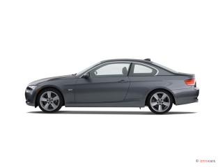 2007 BMW 3-Series 2-door Coupe 335i RWD Side Exterior View