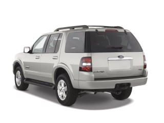 2008 Ford Explorer RWD 4-door V6 XLT Angular Rear Exterior View