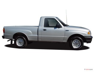 2008 Mazda B-Series Truck 2WD Reg Cab Man Side Exterior View