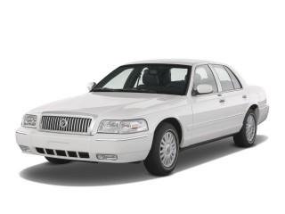 2008 Mercury Grand Marquis 4-door Sedan LS Angular Front Exterior View