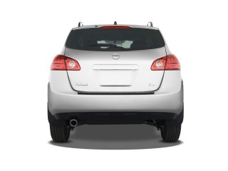 2008 Nissan Rogue FWD 4-door SL Rear Exterior View