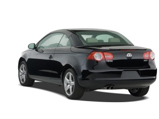 2008 Volkswagen Eos 2-door Convertible DSG Turbo Angular Rear Exterior View