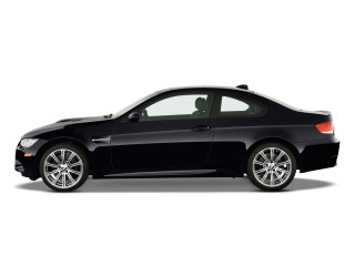 2010 BMW M3 2-door Coupe Side Exterior View