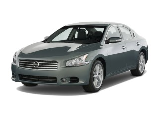 2010 Nissan Maxima 4-door Sedan V6 CVT 3.5 SV Angular Front Exterior View