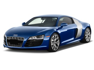 2011 Audi R8 2-door Coupe 5.2L Man quattro Angular Front Exterior View