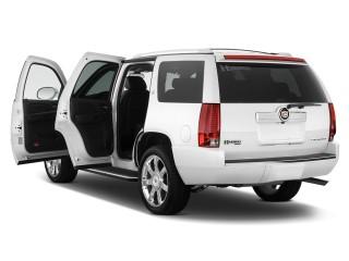2011 Cadillac Escalade Hybrid 4WD 4-door Open Doors