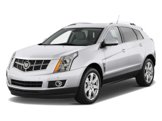 2011 Cadillac SRX FWD 4-door Performance Collection Angular Front Exterior View