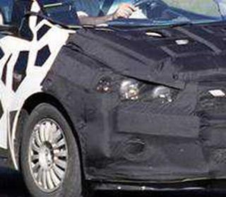 2011 Chevrolet Aveo spy shots