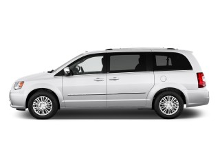 2011 Chrysler Town & Country 4-door Wagon Limited Side Exterior View