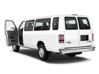 2011 Ford Econoline Wagon E-350 Super Duty Ext XL Open Doors