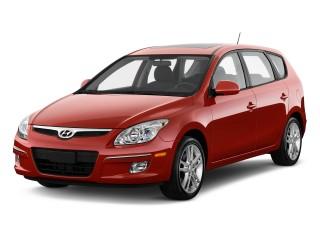 2011 Hyundai Elantra Touring 4-door Wagon Auto GLS Angular Front Exterior View