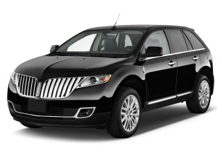 2011 Lincoln MKX FWD 4-door Angular Front Exterior View