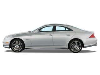 2011 Mercedes-Benz CLS Class 4-door Sedan 6.3L AMG Side Exterior View