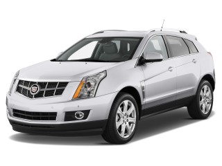 2012 Cadillac SRX FWD 4-door Performance Collection Angular Front Exterior View