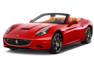 2012 Ferrari California 2-door Convertible Angular Front Exterior View