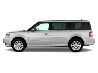 2012 Ford Flex 4-door SEL FWD Side Exterior View
