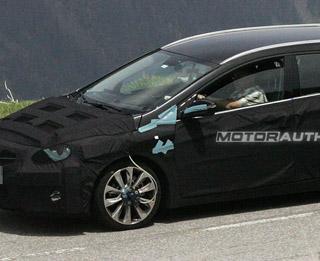 2012 Hyundai Wagon spy shots