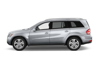 2012 Mercedes-Benz GL Class 4MATIC 4-door 4.6L Side Exterior View