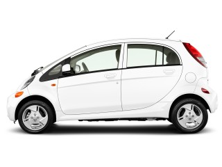 2012 Mitsubishi i-MiEV 4-door HB SE Side Exterior View
