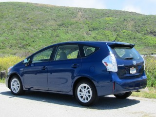2012 Toyota Prius V station wagon, Half Moon Bay, CA, May 2011