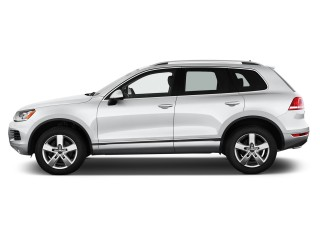 2012 Volkswagen Touareg 4-door TDI Lux *Ltd Avail* Side Exterior View