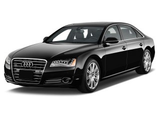 2013 Audi A8 L 4-door Sedan 4.0L Angular Front Exterior View