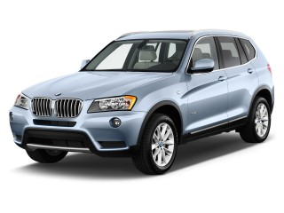 2013 BMW X3 AWD 4-door 28i Angular Front Exterior View