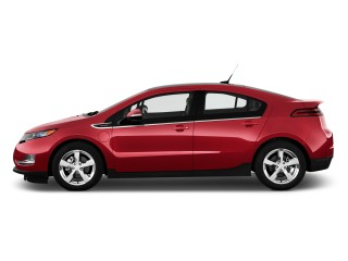 2013 Chevrolet Volt 5dr HB Side Exterior View