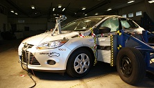 2013 Ford Focus NCAP crash test