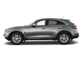 2013 Infiniti FX37 RWD 4-door Side Exterior View