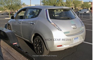 2013 Nissan Leaf: Spy Shots Of New, Less-Expensive Model ...