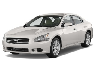 2013 Nissan Maxima 4-door Sedan 3.5 S Angular Front Exterior View