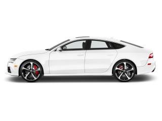 2014 Audi RS 7 4-door HB Prestige Side Exterior View
