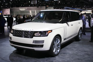 2014 Land Rover Range Rover Long-Wheelbase Autobiography Black, 2013 Los Angeles Auto Show