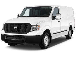2014 Nissan NV Standard Roof 2500 V8 S Angular Front Exterior View