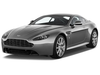 2015 Aston Martin V8 Vantage 2-door Coupe Angular Front Exterior View