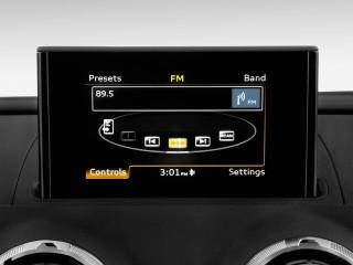 2015 Audi A3 4-door Sedan FWD 1.8T Prestige Audio System