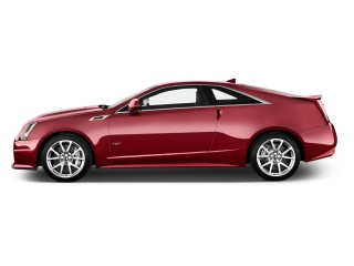 2015 Cadillac CTS-V 2-door Coupe Side Exterior View