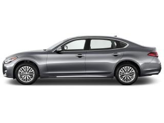 2015 Infiniti Q70L 4-door Sedan V6 RWD Side Exterior View
