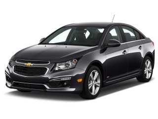2016 Chevrolet Cruze Limited 4-door Sedan Auto LT w/2LT Angular Front Exterior View
