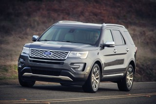 2017 Ford Explorer Mpg >> 2016 Ford Explorer Review Ratings Specs Prices And Photos The