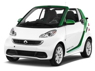 2016 Smart fortwo electric drive 2-door Coupe Passion Angular Front Exterior View