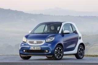2016 Smart ForTwo (European model)
