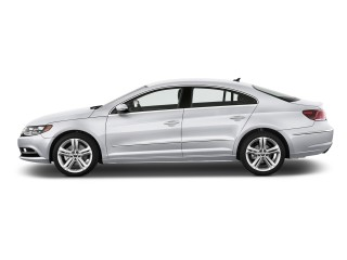 2016 Volkswagen CC 4-door Sedan DSG Sport Side Exterior View
